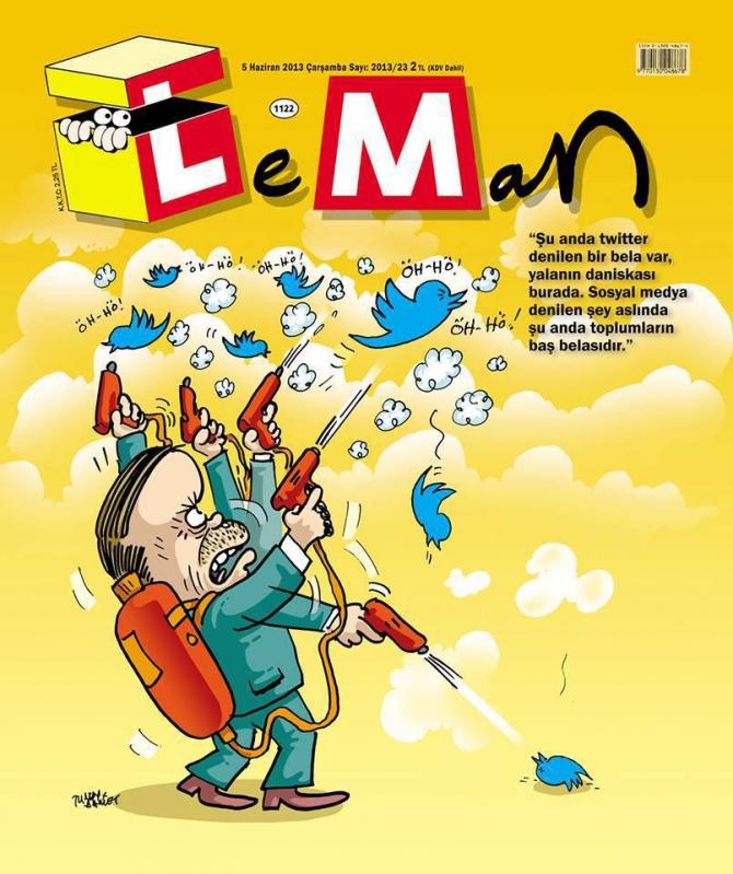 Gezi Direnişi 'Sosyal Medya'da 47