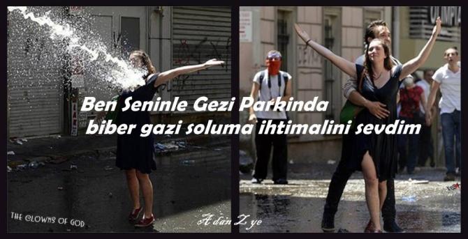 Gezi Direnişi 'Sosyal Medya'da 54