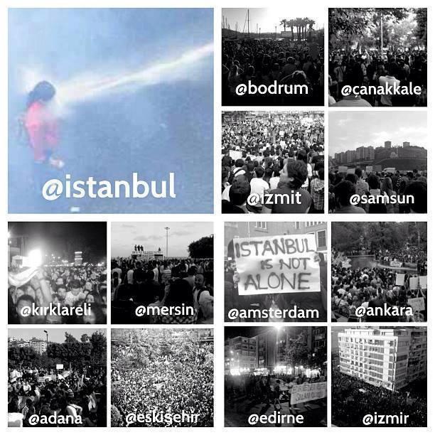 Gezi Direnişi 'Sosyal Medya'da 7