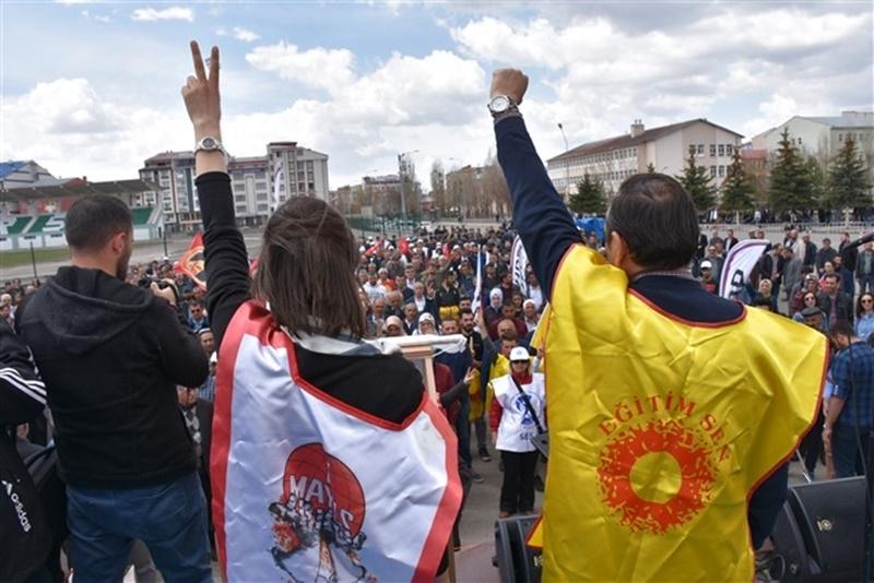 Kars'ta 1 Mayıs Coşkusu 2