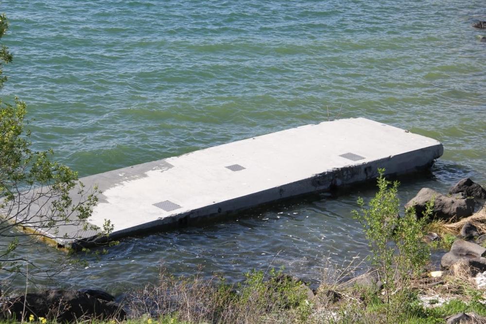 Çıldır Gölü'ne 'Köpük' İskeleler 12