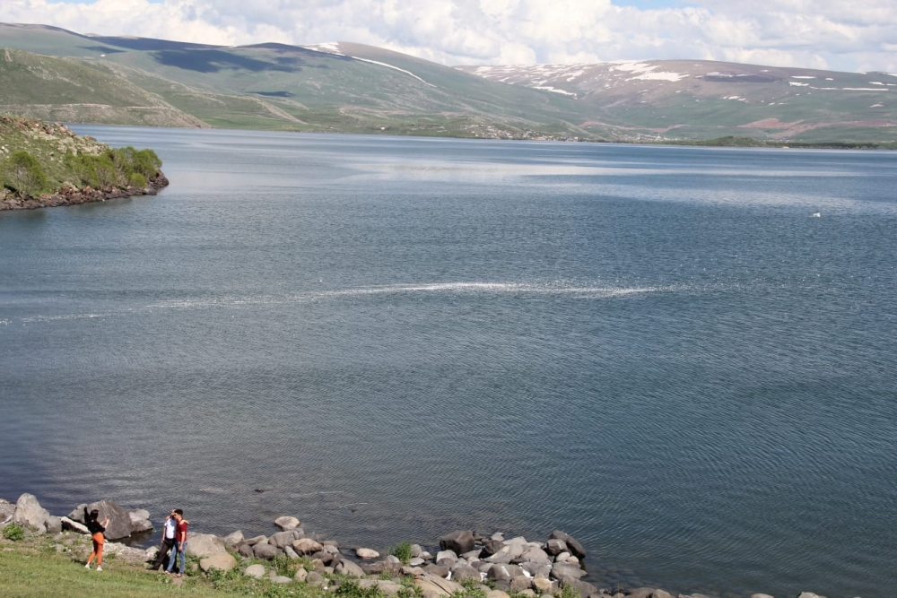 Çıldır Gölü'ne 'Köpük' İskeleler 7