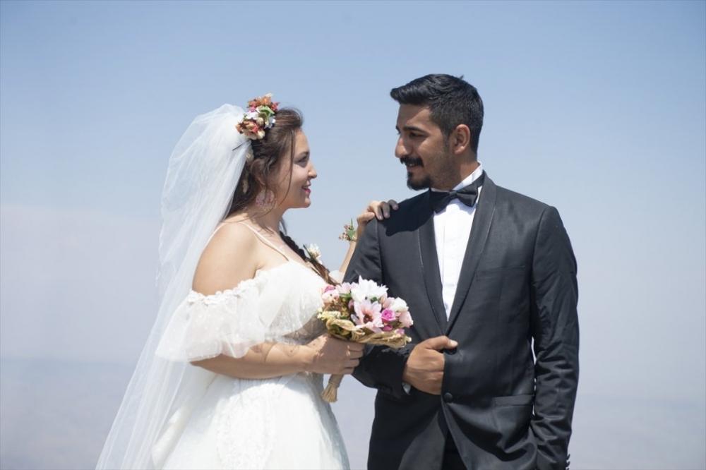 Dağcı Çift 'Zirve'de Nikah Kıydı 14