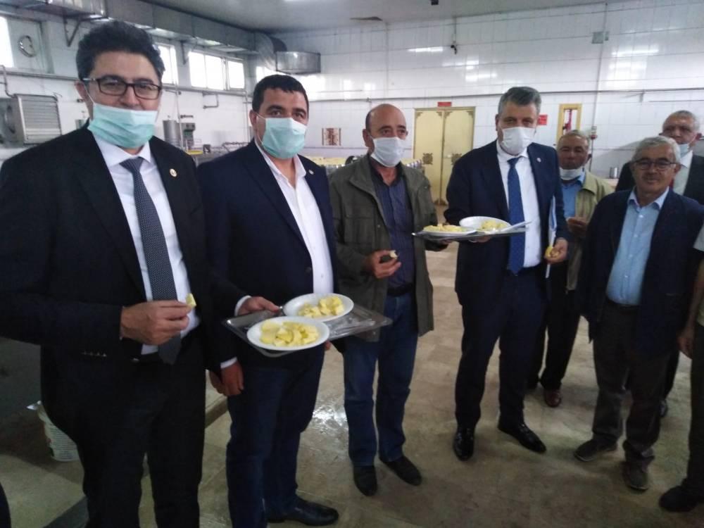 CHP'li Vekiller Kars'a Çıkarma Yaptı 18