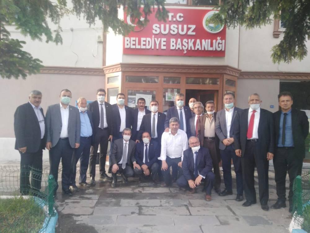 CHP'li Vekiller Kars'a Çıkarma Yaptı 30