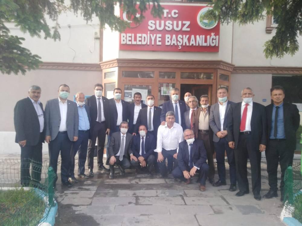 CHP'li Vekiller Kars'a Çıkarma Yaptı 31