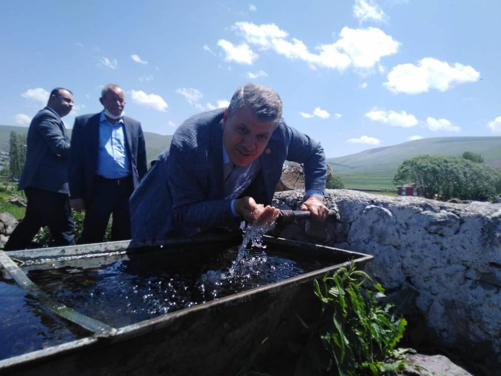 CHP'li Vekiller Kars'a Çıkarma Yaptı 40