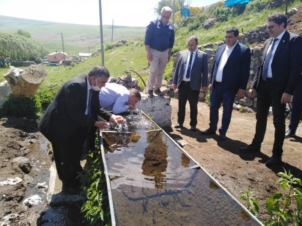 CHP'li Vekiller Kars'a Çıkarma Yaptı 47