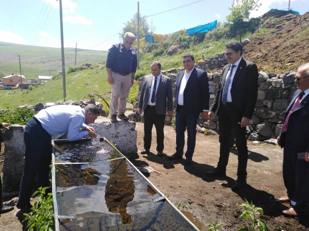 CHP'li Vekiller Kars'a Çıkarma Yaptı 48