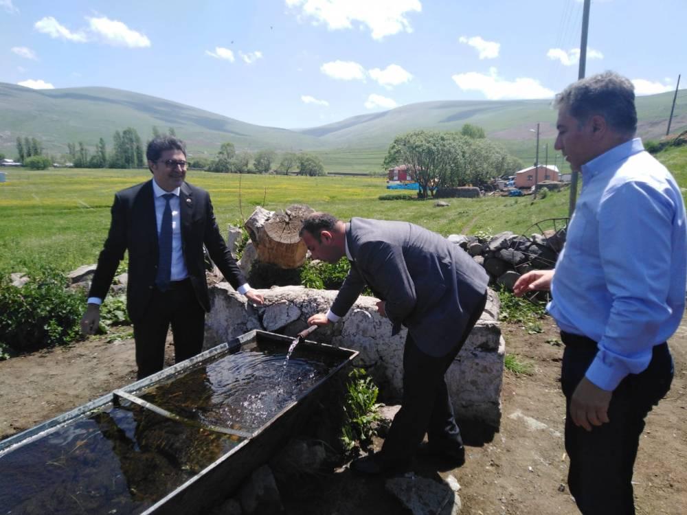 CHP'li Vekiller Kars'a Çıkarma Yaptı 51