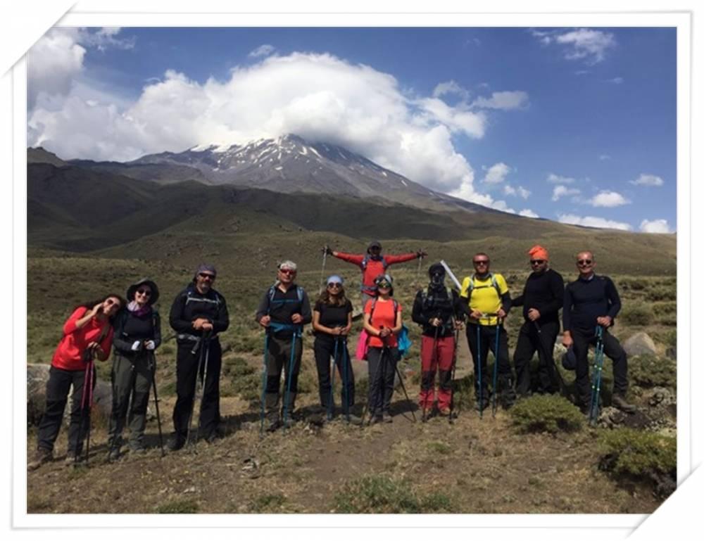 Karslı Dağcılar Ağrı'ya Tırmandı 4