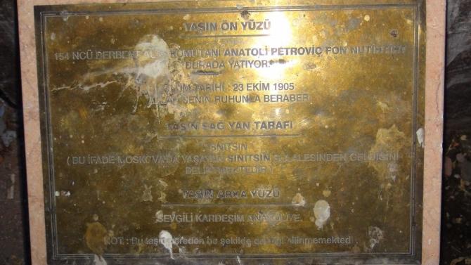 Kars'ta Rus Komutana Ait 108 Yıllık ANIT ! 4
