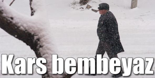 Kars, Erken Gelen Kışa Teslim OLDU