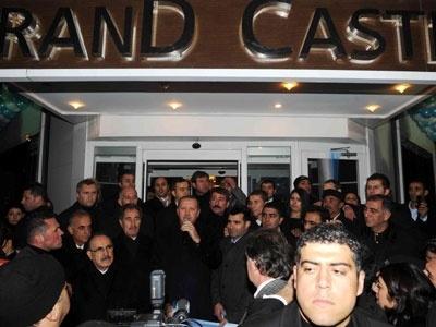 Erdoğanın Açtığı Otel Kaçak ÇIKTI