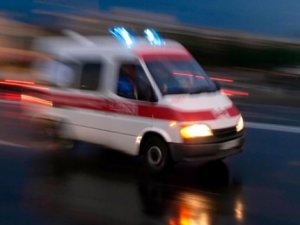 Kars'ta Ambulans Kaza Yaptı