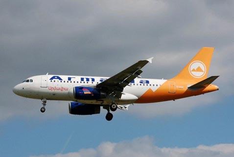Ermenistan Yolcu Uçağı da İNDİRİLDİ