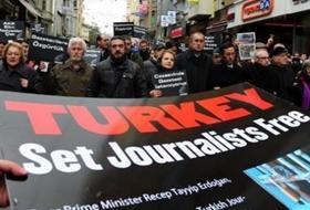 Gazetecilere Özgürlük İçin YÜRÜYÜŞ