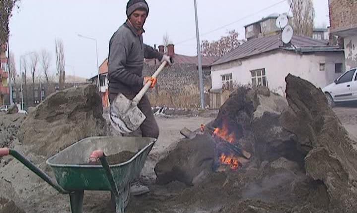İşçilerin Soğuk Hava MÜCADELESİ