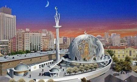 Taksim Meydanına Cami YAPILACAK!