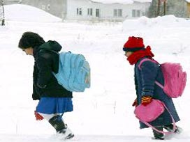 Karsta Okullara 3 Günlük Kar TATİLİ