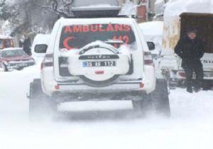 Üçüncü Çocuğu Ambulansta DOĞDU