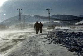 Sarıkamışta Kar ve Tipi Etkili OLUYOR
