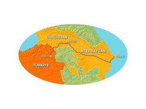 Bakü-Tiflis-Kars Demiryolu Hattının Açılışı Yapıldı