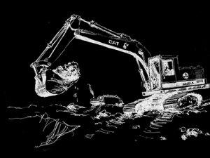 'İnşaat Kazısı'nda Tarihi Mezar Çıktı