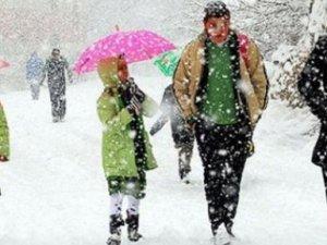 Sarıkamış'ta Eğitime Kar Tatili