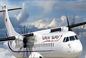 Van Way Airlines, Erivana UÇACAK