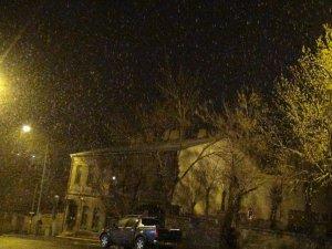 Kars'a Nisan Karı