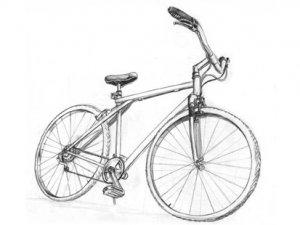 Üzülen Öğrenciye Bisiklet Hediye Edildi