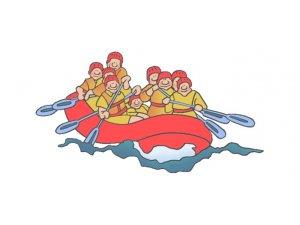 Kars Çayı'nda İlk Kez Rafting Heyecanı