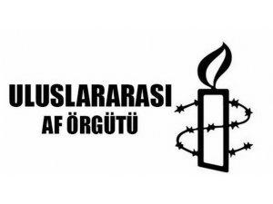 Af Örgütü'nden 'Kaygılıyız' Açıklaması