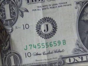Kars'ta Şifreli 1 Dolarlık Banknotlar