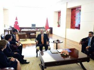 Kılıçdaroğlu, Avusturalya Büyükelçisi Larsen İle Biraraya Geldi
