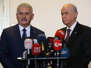 Başbakan Yıldırım MHP'yi Ziyaret Etti