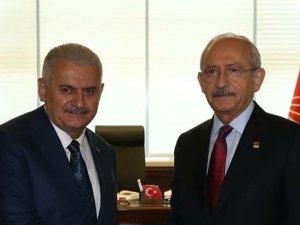 Başbakan Binali Yıldırım CHP'yi Ziyaret Etti