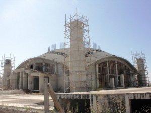 Ağrı'da Caminin Kubbesinde Düşen İşçi Öldü