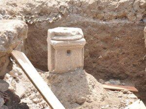 İnşaattan Bizans Kalıntıları Çıktı