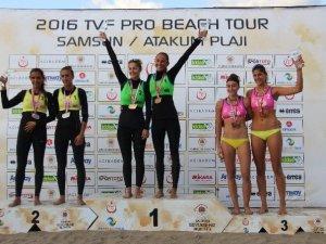 Pro Beach Tour Samsun Etabı'nda Şampiyonlar Belli Oldu