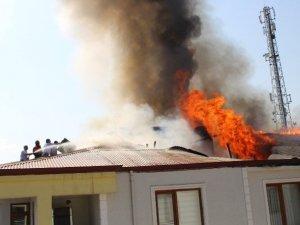 Iğdır'da Korkutan Yangın