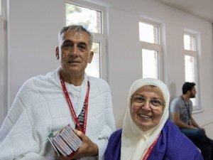 Hasan Polatkan Havalimanı'ndan İlk Hacı Kafilesi Uğurlandı