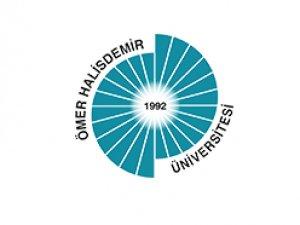 Ömer Halisdemir Üniversitesi Tabelaları Asıldı