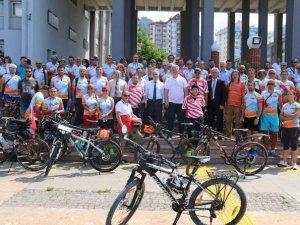 2. Karadeniz Bisiklet Festivali Başladı