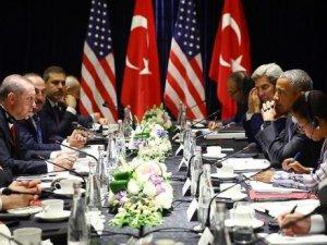 Erdoğan, Obama ile Görüştü