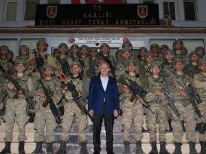 Yıldırım'ın Ziyaret Ettiği Tugay'a PKK Saldırısı