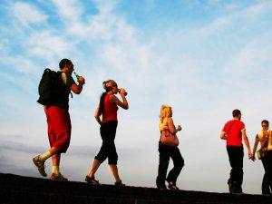 """Kars'ta """"Dünya Yürüyüş Günü"""" Etkinliği"""