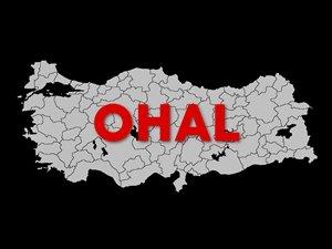 Ohal'in 3 Ay Daha Uzatılması Kabul Edildi