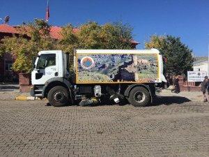 Çıldır Belediyesine Yol Süpürme ve Temizlik Aracı
